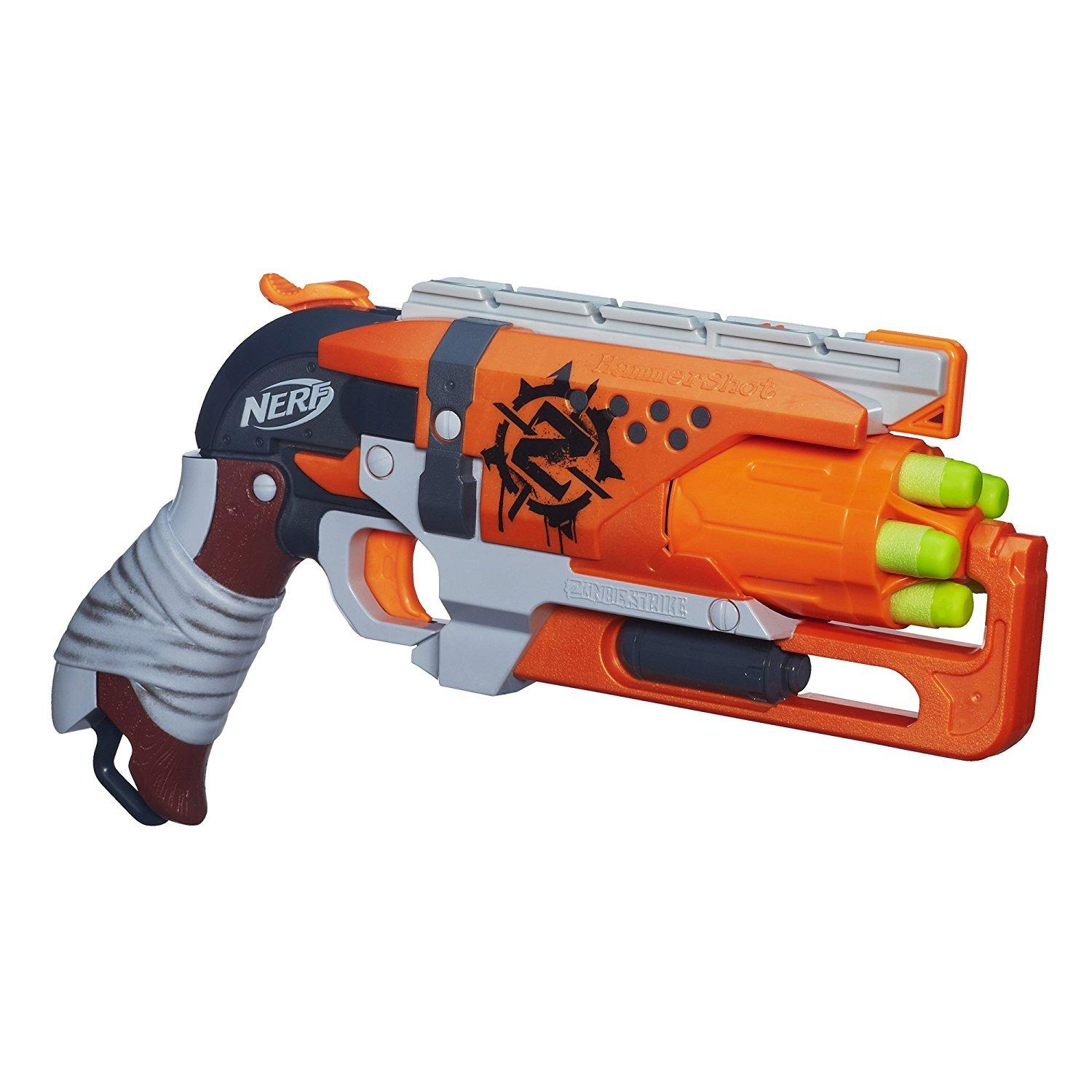 Nerf Zombie Strike Hammershot Blaster By Galleon.ph.