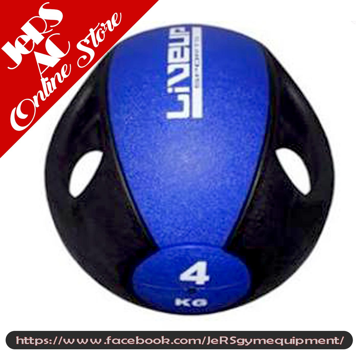 Buy Sell Cheapest 4kg Live Up Best Quality Product Deals Rawt 11154 Reebok Dumbbell Per Pair Sport Medicine Ball With Handle Blue