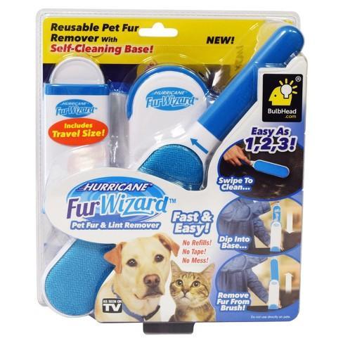 76efcac667 Fur Wizard Hurricane Pet Fur and Lint Remover Pet Accessories Pet Comb and  Pet Brush