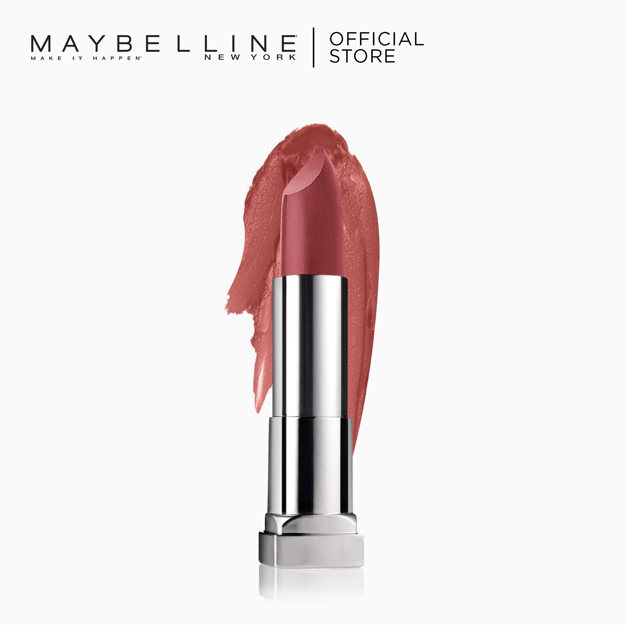 Creamy Matte Lipstick – 657 Nude Nuance [New Yorks #1] by Maybelline Color Sensational Philippines