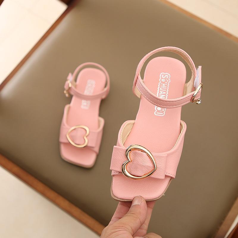 Anak Prempuan Sandal Summer 2018 Musim Panas Model Baru Sepatu Bayi Versi Korea Anak Kecil Sepatu
