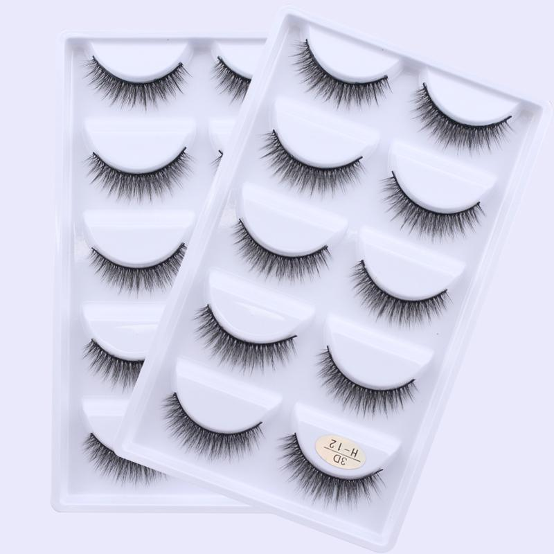 3D Handmade Mink Lashes 5 Pairs Philippines