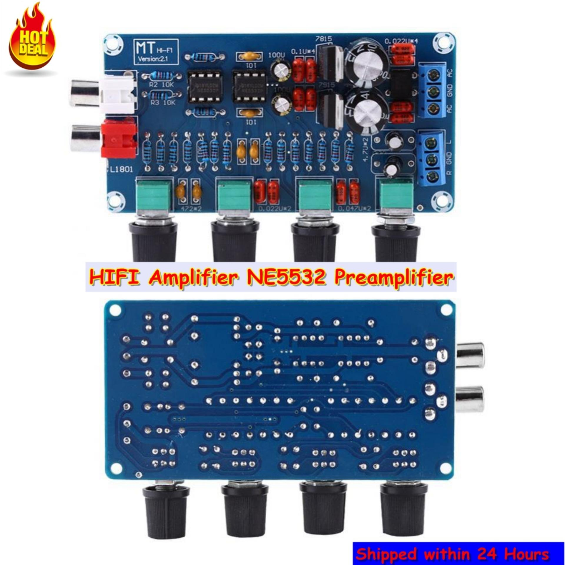 Other Electronics For Sale Consumer Prices Tone Control Circuit Guitar Amplifier Using 741 Hifi Op Amp Ne5532 Preamplifier Volume Assembled Board Intl