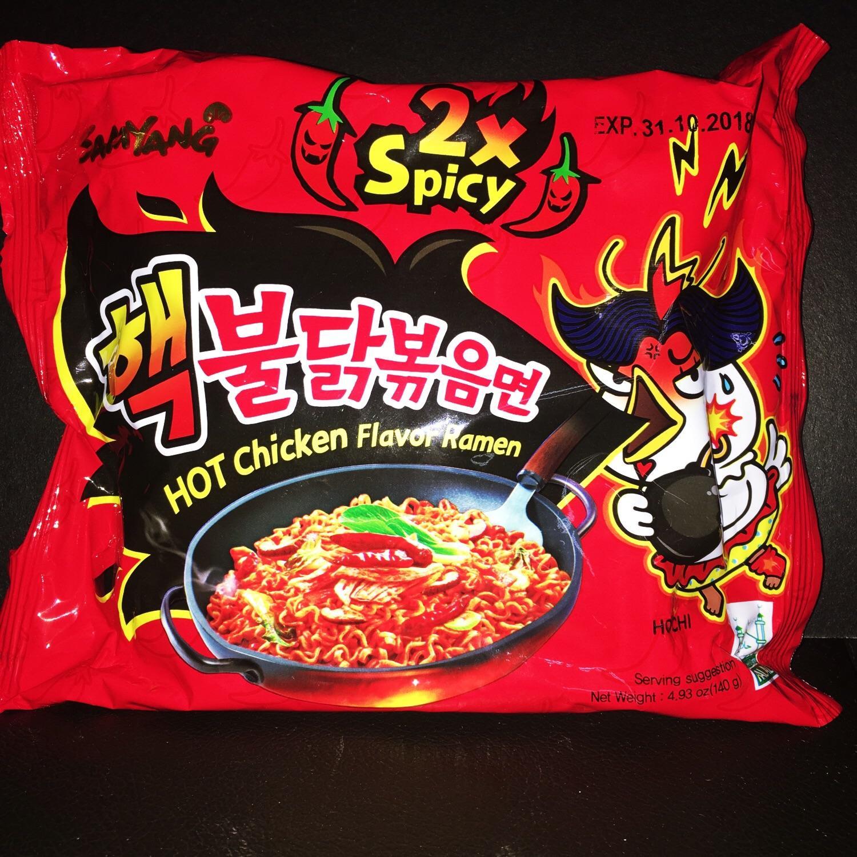 Samyang Hot Chicken Ramen X2 SPICY 140g Pack