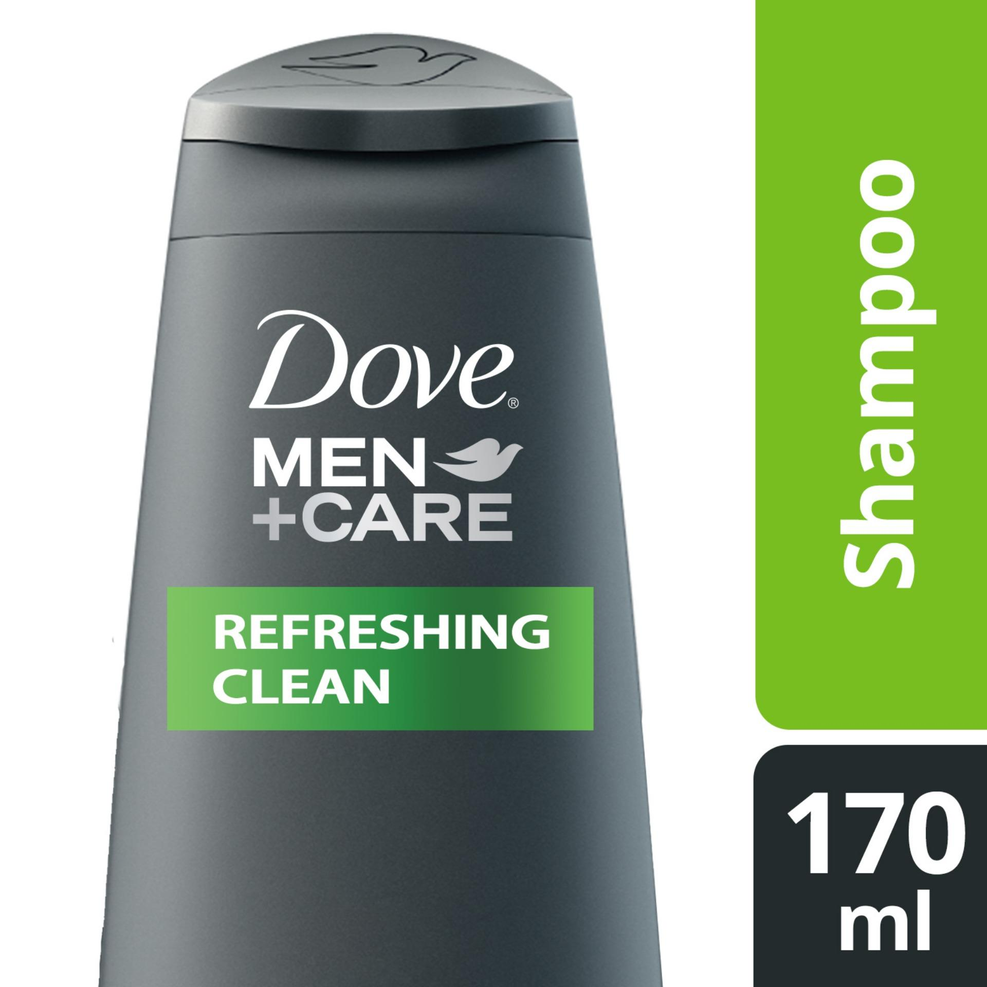 The Price Of Clear Men Shampoo Deep Cleanse 180ml Philippines Dove Refreshing Clean 170ml