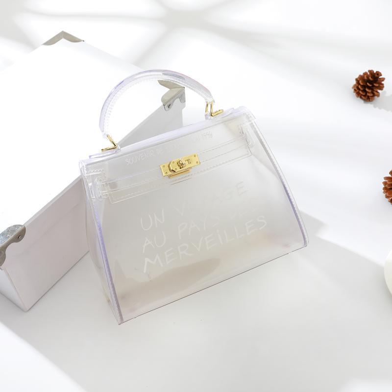 Tas perempuan 2018 model baru Gaya Korea netral tas selempang modis tas  bahu dengan satu tali 2332b4d7d5