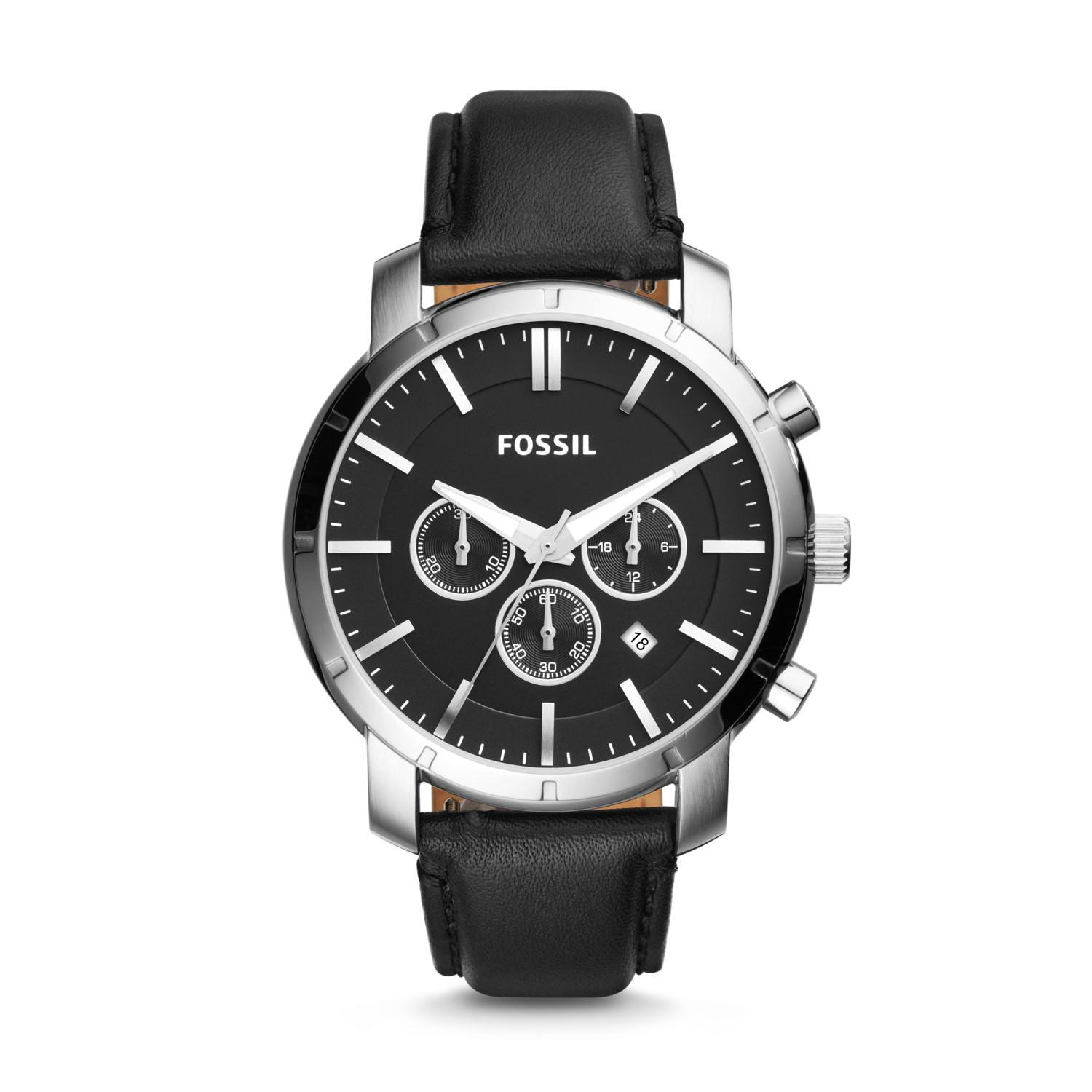 Buy Sell Cheapest Fossil Male Black Best Quality Product Deals Jr1401 Nate Chronograph Stainless Steel Watch Lance Leather Bq1279