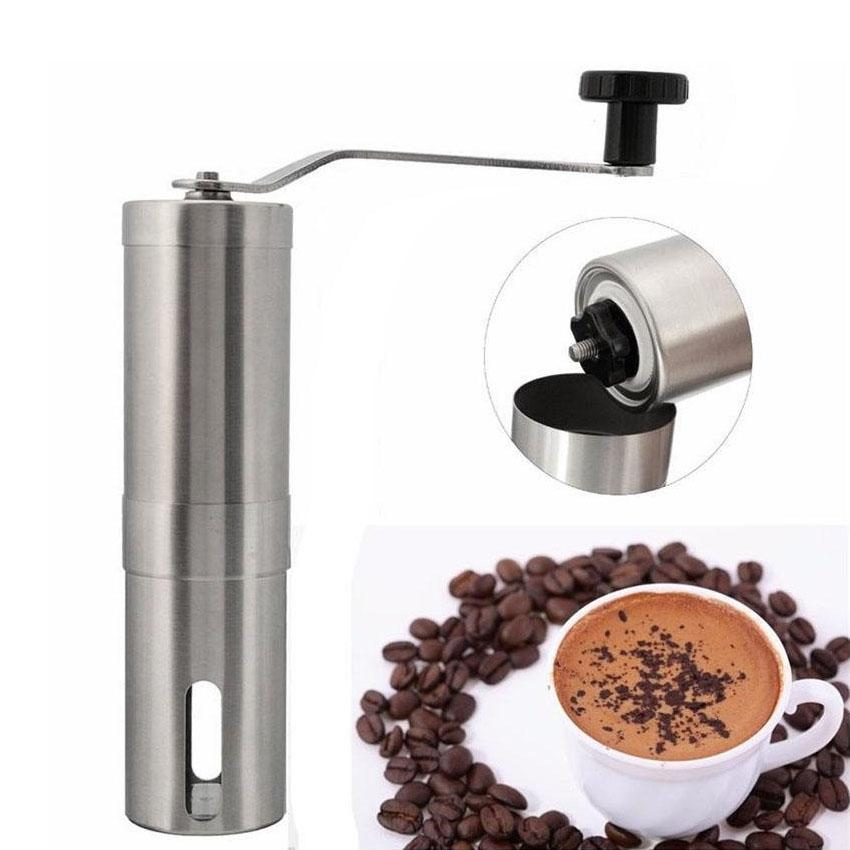 Manual Coffee Grinder Coffee Maker Stainless Steel By Goshop.