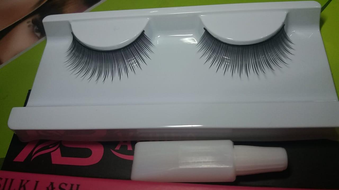 3D SILK  EYELASH PAIR WITH EYELASH GLUE - #606 Philippines