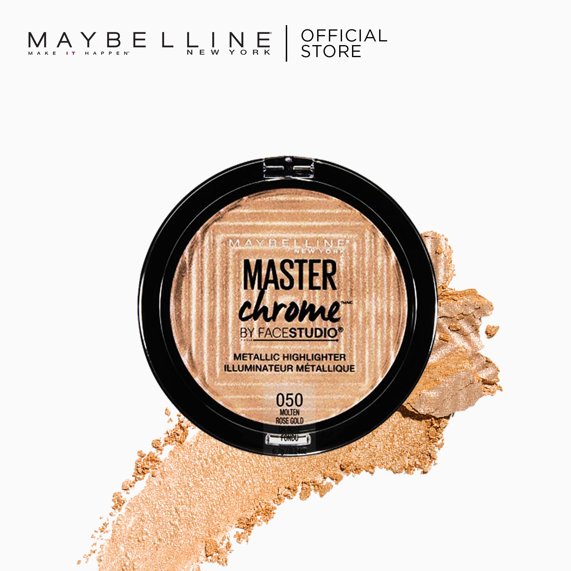 Master Chrome Metallic Highlighter by Maybelline Philippines