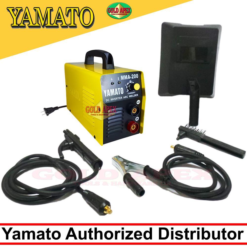 Yamato Philippines Price List Welding Machines For Sale Mig Welder Wiring Diagram Further New 200 Arc Electric Mma 200a Inverter Machine