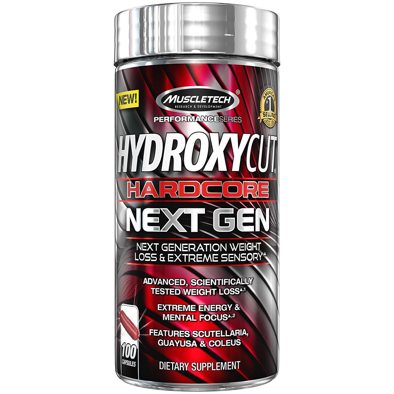 ... Muscletech Hydroxycut Hardcore Next Gen Capsules Bottle of 100