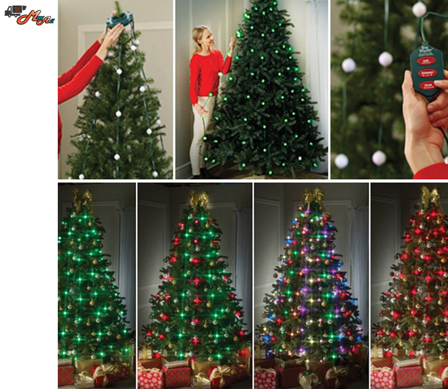 specifications of christmas tree decoration 64 animated lightas seen on tv