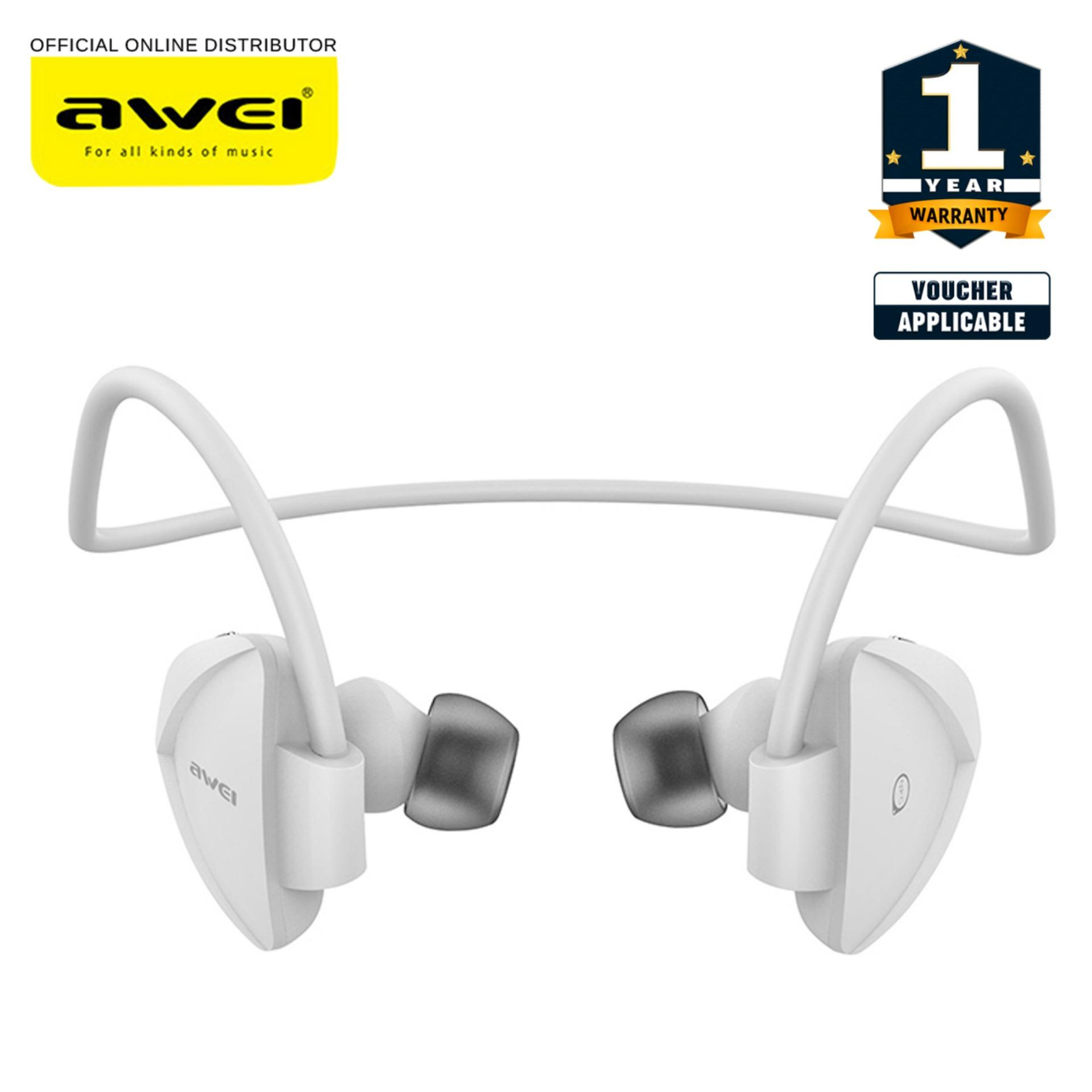 Buy Sell Cheapest Awei Sports Earbuds Best Quality Product Deals Original A920bl Bluetooth Wireless Sport Exercise Stereo Noise Reduction Build In Microphone A840bl 41 Music Earphone Sound Cancelling Ear