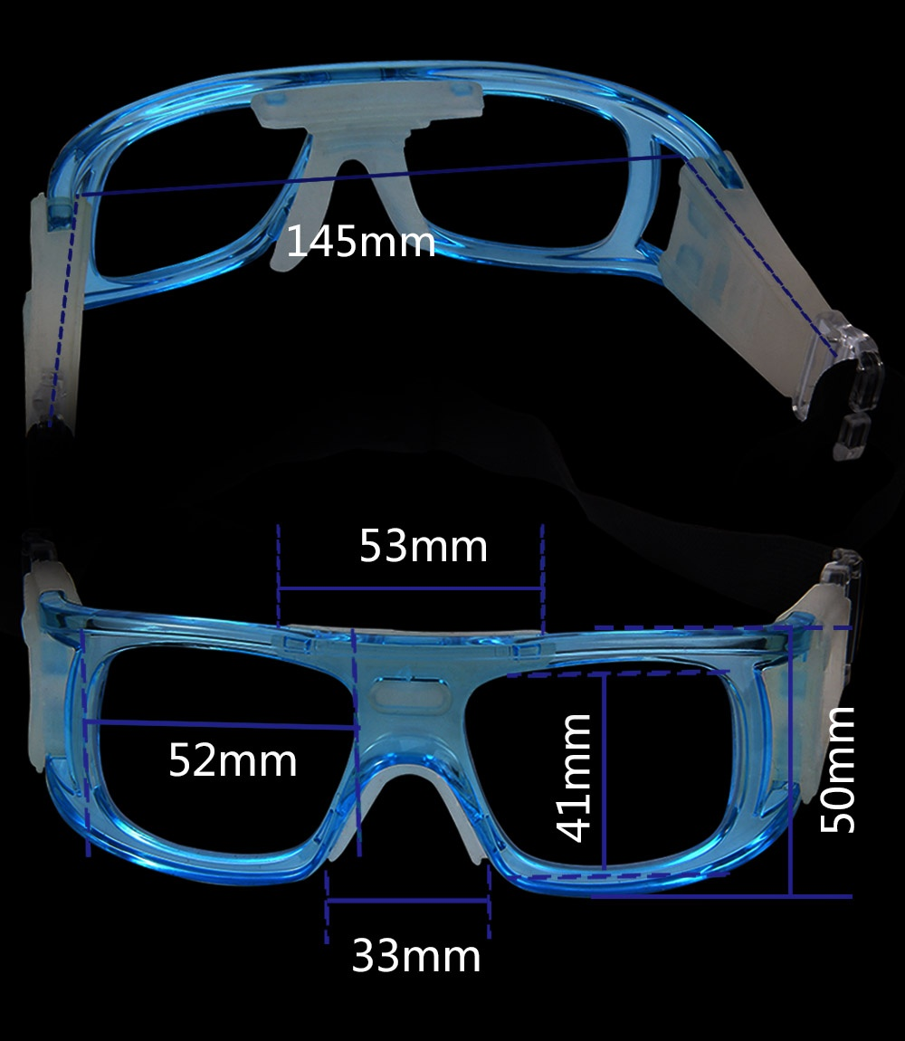 4ee8949017 Package Content  1 x Basketball Football Sports Eyewear Goggles PC Lens  Protective Eye Glasses