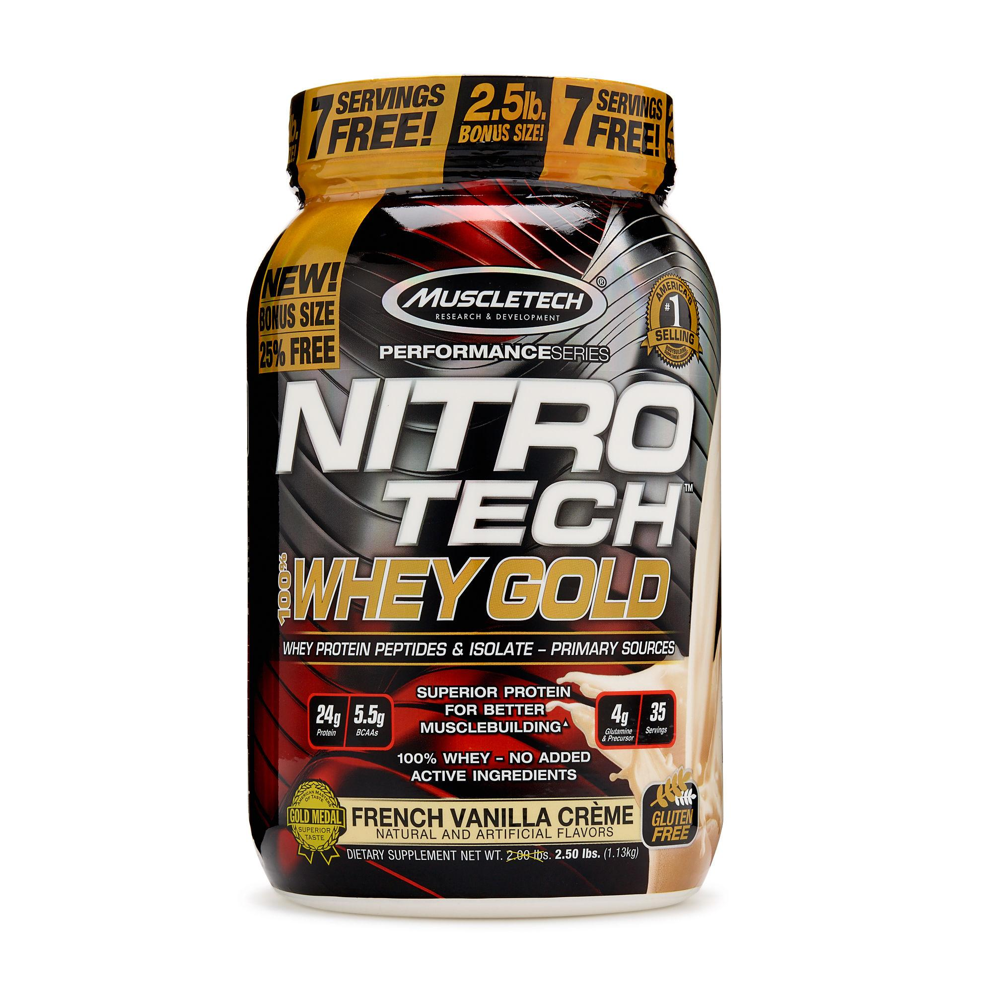 Buy Sell Cheapest Nitrotech 100 Whey Best Quality Product Deals Muscletech Performance Series 4 Lbs Perfseries Gold 25lbs French Vanilla Creme