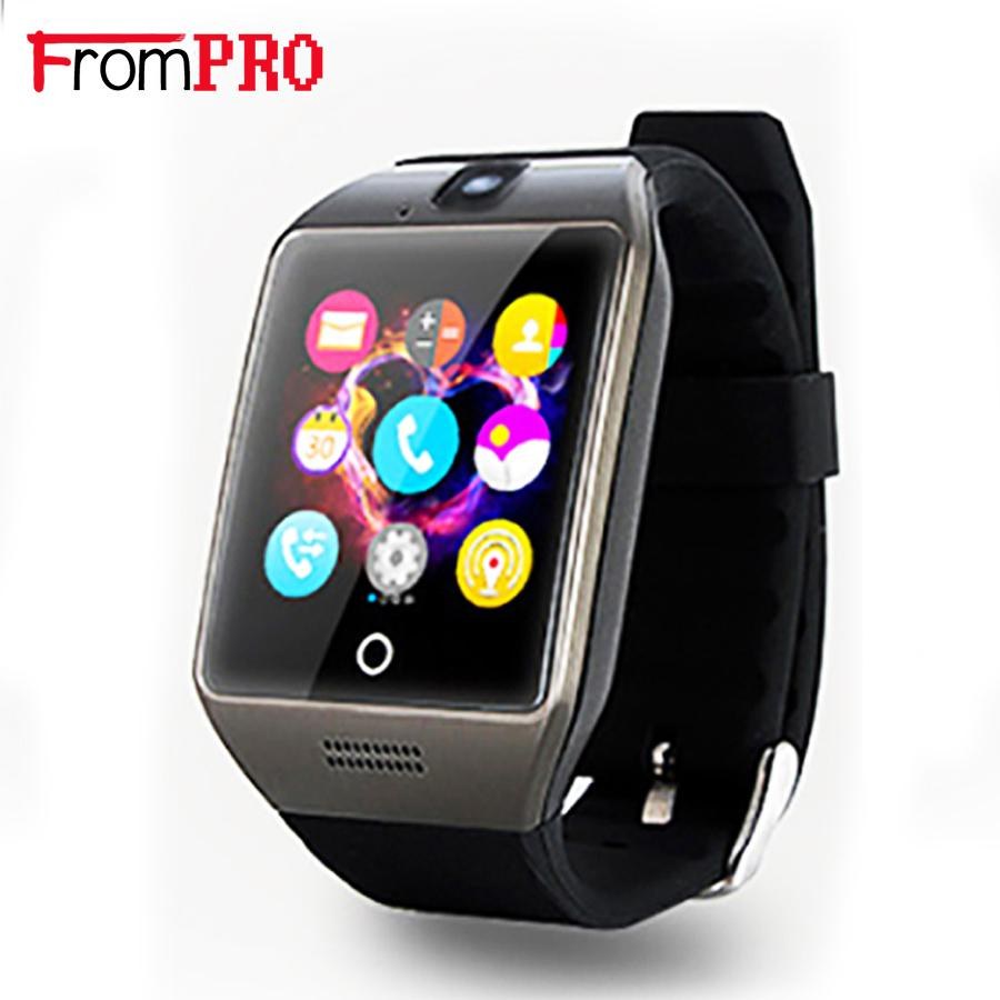 FROMPRO Original Bluetooth Smart Watch Q18S Arc Smartwatch support Sim TF Passometer Sport .