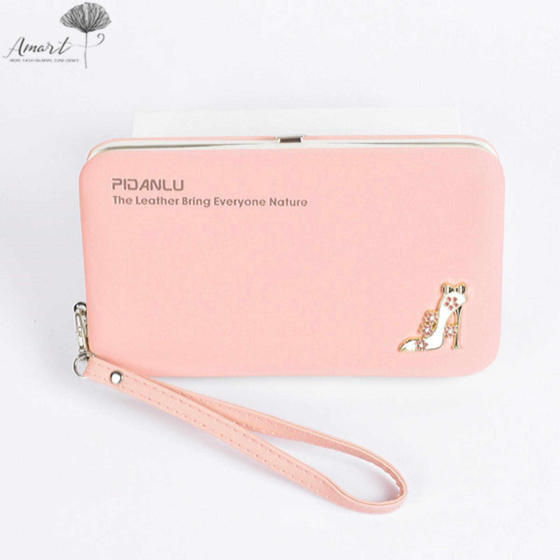 ... Clutch Wallet Long Card Holder Case Purse Handbag BA007-Gray - intlPHP360. PHP 364. Amart Lovely ...