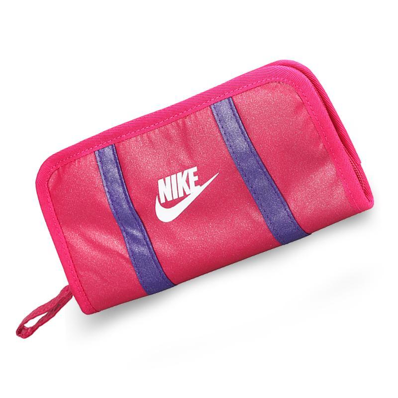 Nike รุ่นยาวกระเป๋าสตางค์แบบพับ Nike Doukou สุภาพสตรีกระเป๋าแฟชั่นผู้หญิงกระเป๋าใส่บัตรกระเป๋าใส่โทรศัพท์มือถือวันเกิดของขวัญกระเป๋าโทรศัพท์ By Taobao Collection.
