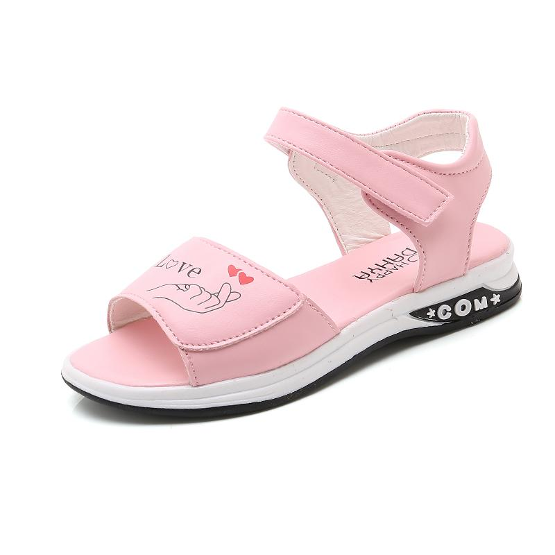 Sandal Summer Korea Fashion Style Perempuan Sandal Pantai Pijakan Empuk Non-slip