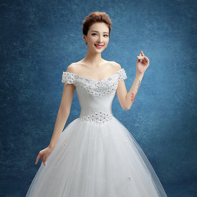 Dark green color New style bridesmaid dress (3-boob tube top long ...