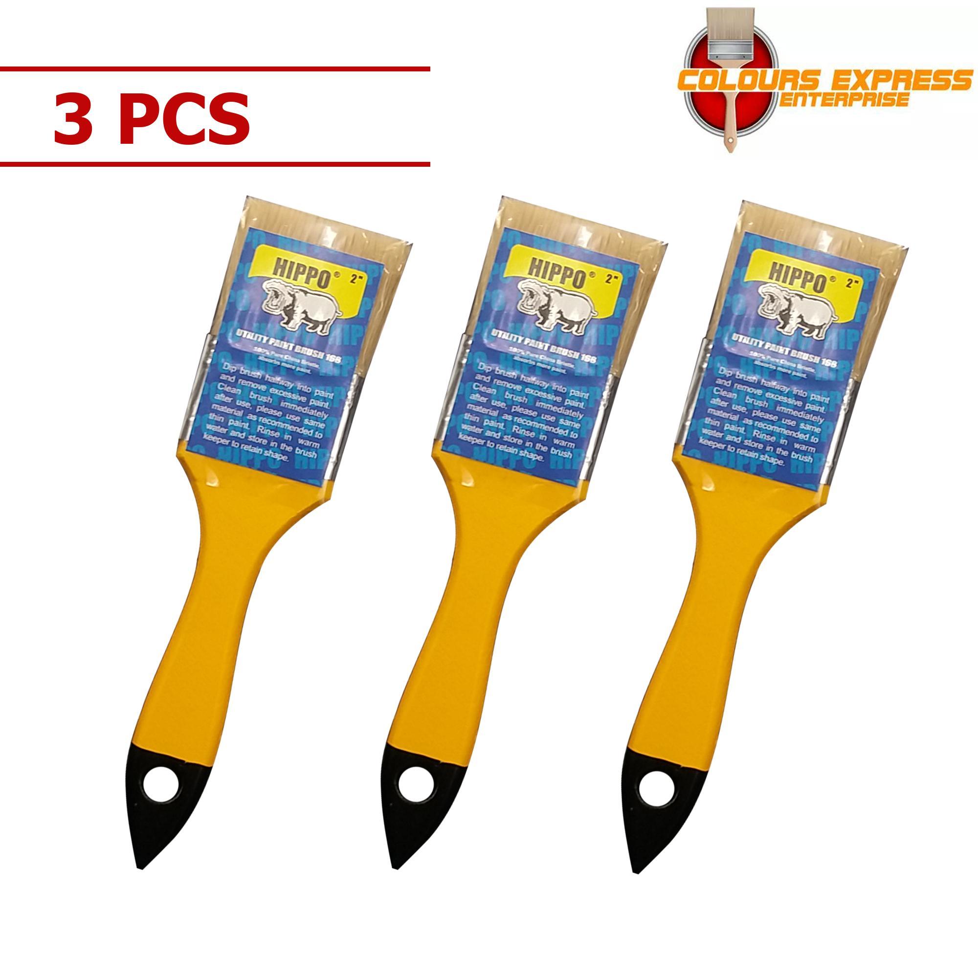 Hippo 2 Utility Paint Brush 168 3Pcs