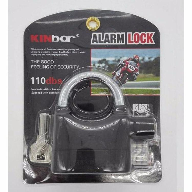 LOVE&HOME Alarm Padlock for Door/Motor/Bike/Car 110db Anti-Theft Security Lock Set with Batteries Philippines
