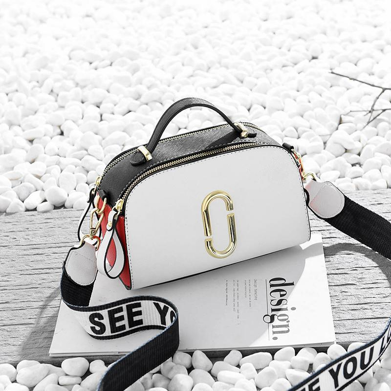 Small Bag Autumn And Winter INS Ultra-Fire Bags Female 2019 New Style Shoulder Bag Korean Style Girls Broadband One-Shoulder Bags