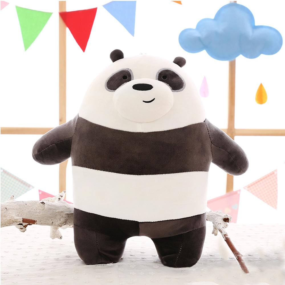 Stuffed toys for sale plush toys online brands prices reviews we bare bears collection stuffed toys 40cm grizzly bear panda bear and ice aloadofball Gallery