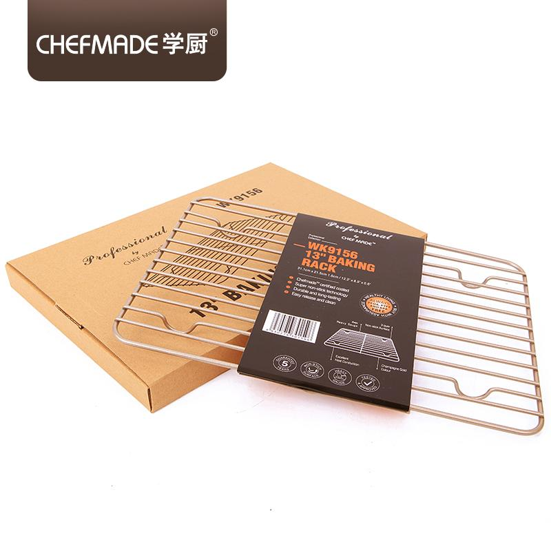 Chefmade Chef Made Golden 13-Inch Cake Bread Non-Stick Cooling Rack Hanging Network Grill By Taobao Collection.