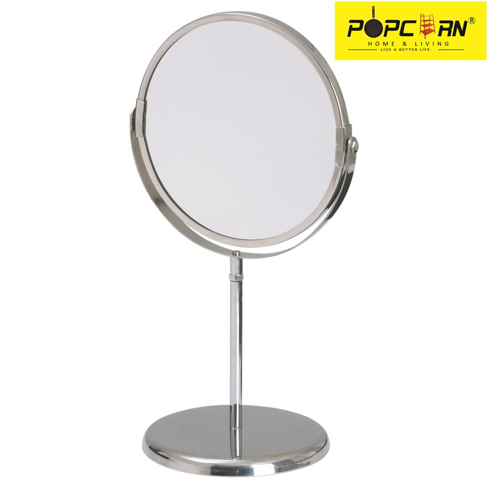 TRENSUM Stainless Steel Waterproof Two-Sided Swivel Vanity Mirror with 2.5x Magnification(Silver) Philippines