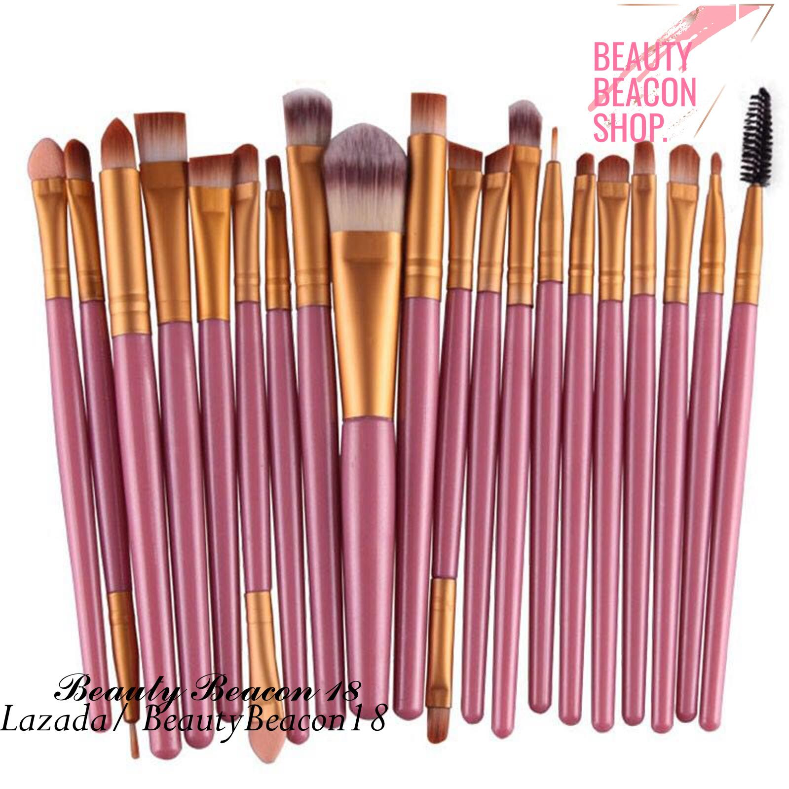 Professional Women Makeup Brush Sets 20 Pcs ( Pink Gold ) Philippines