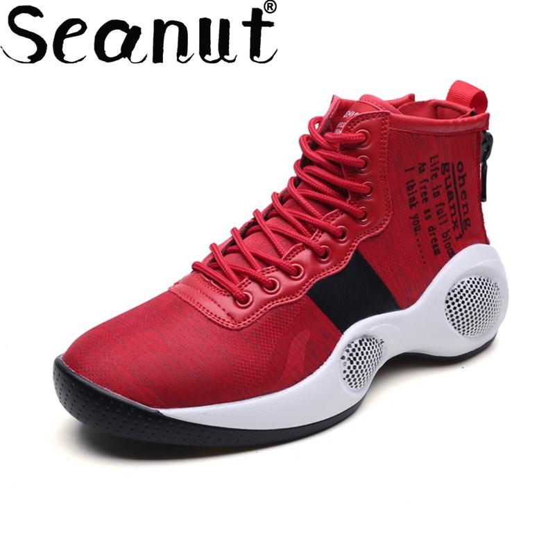 Seanut Men Basketball Shoes Athletic Outdoor Sport Sneakers Free Shipping  729bcc6b8e