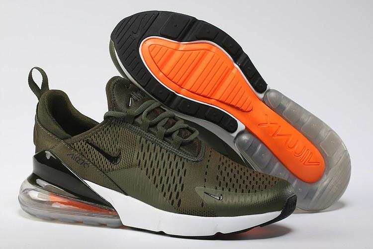 reputable site e72ce 7716c Specifications of Men's Nike Air Max 270 Flyknit Shoes Army Green/Black  Shoes