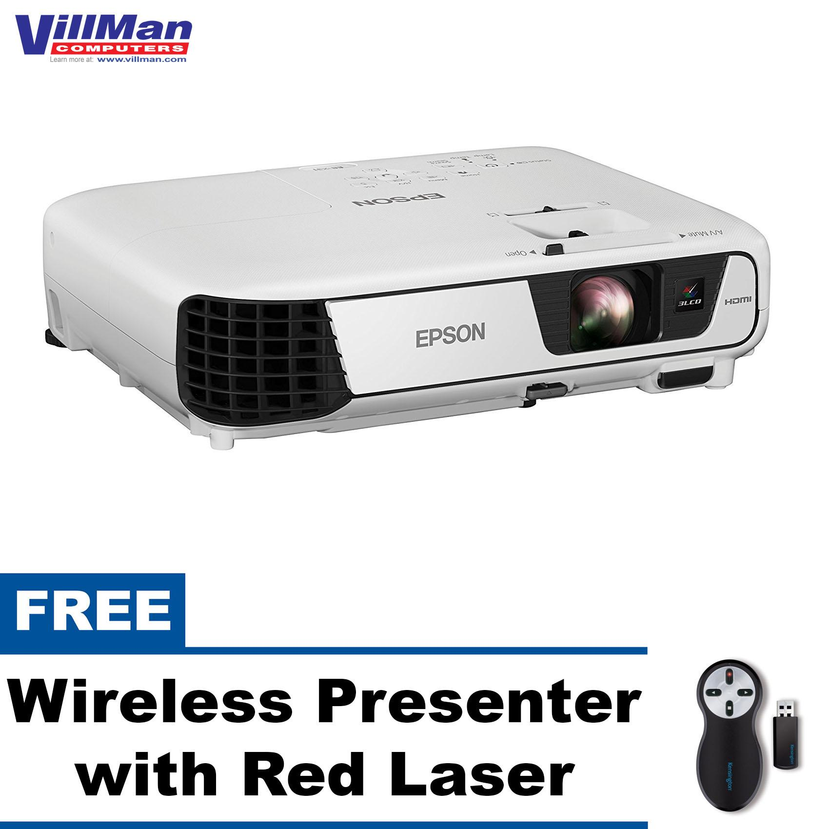 Epson Philippines Projector For Sale Prices Reviews Lazada Eh Tw570 Home Theatre Eb X31 3200 Ansi Lumens With Free Wireless Presenter Red Laser