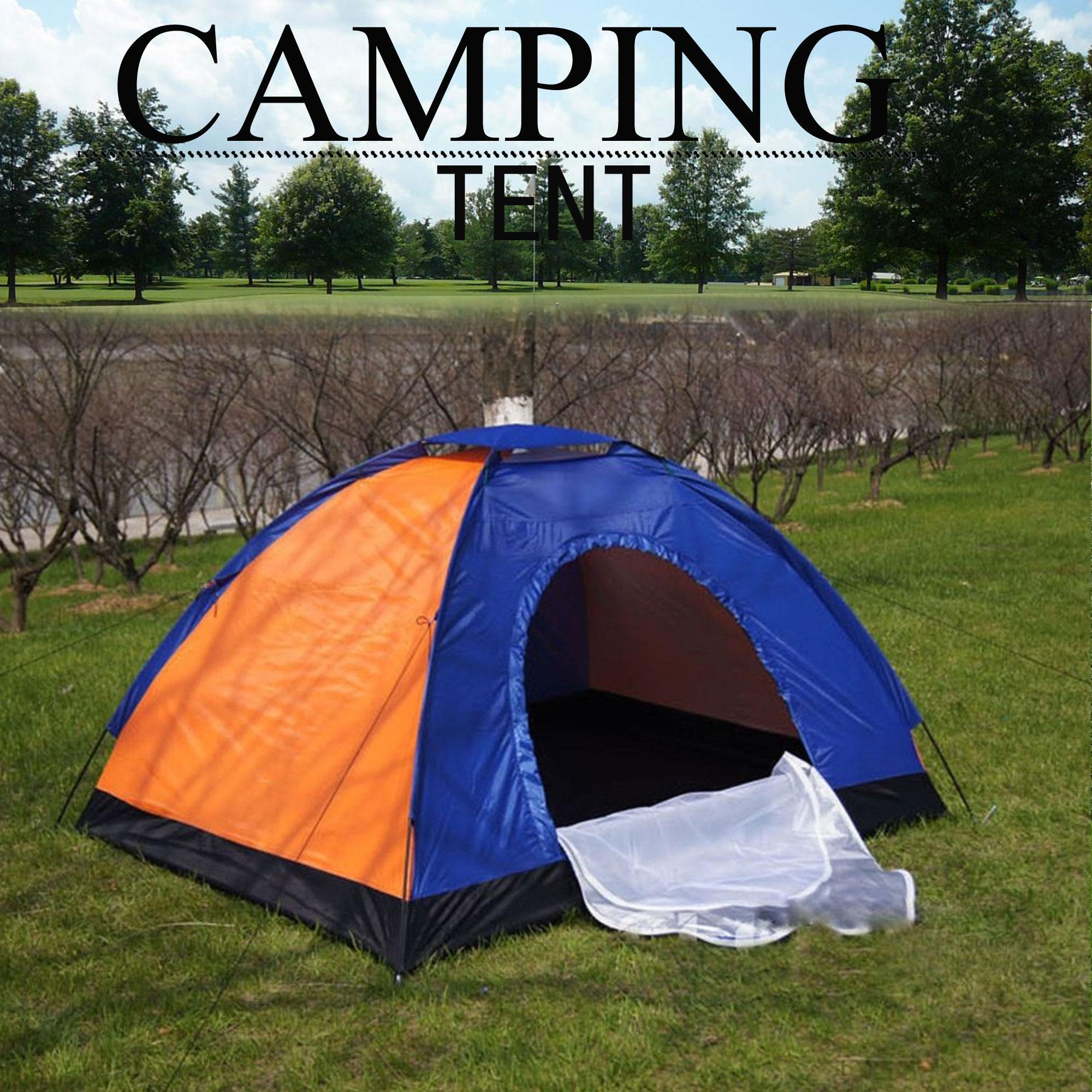 8 Person Dome Camping Tent Multicolor