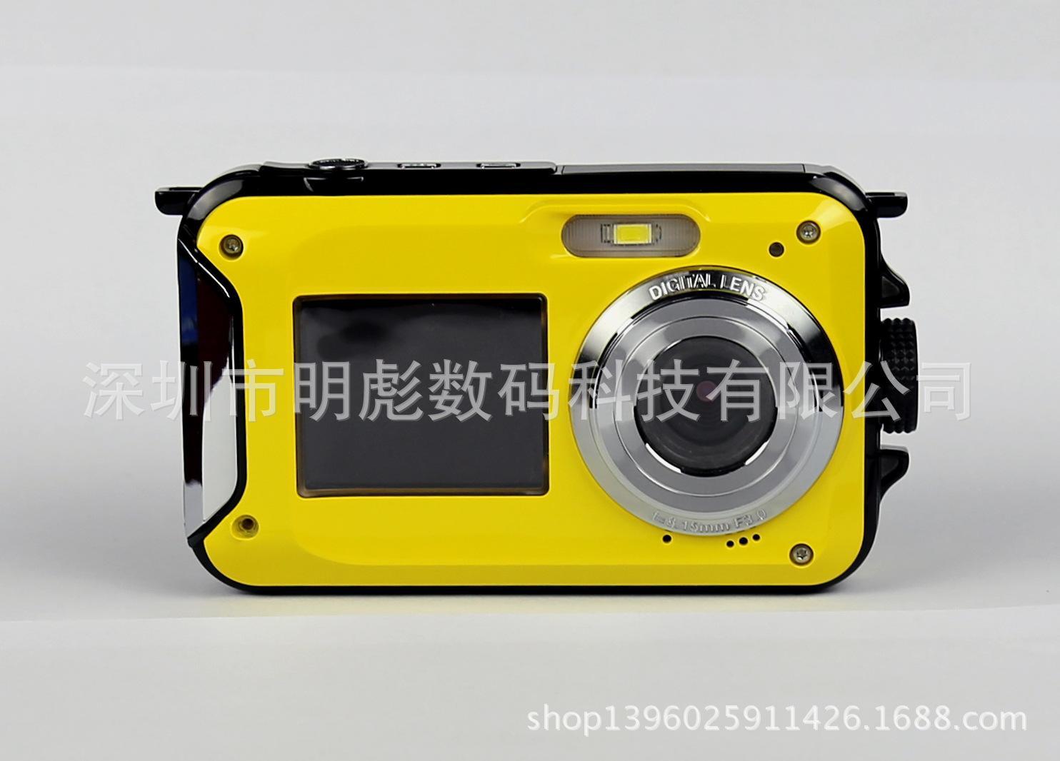 Zdr TM Baru Dual Layar Tahan Air Self-Timer Kamera Digital Mini Outdoor Kamera Biasa Olahraga Kamera Menyelam-Intl