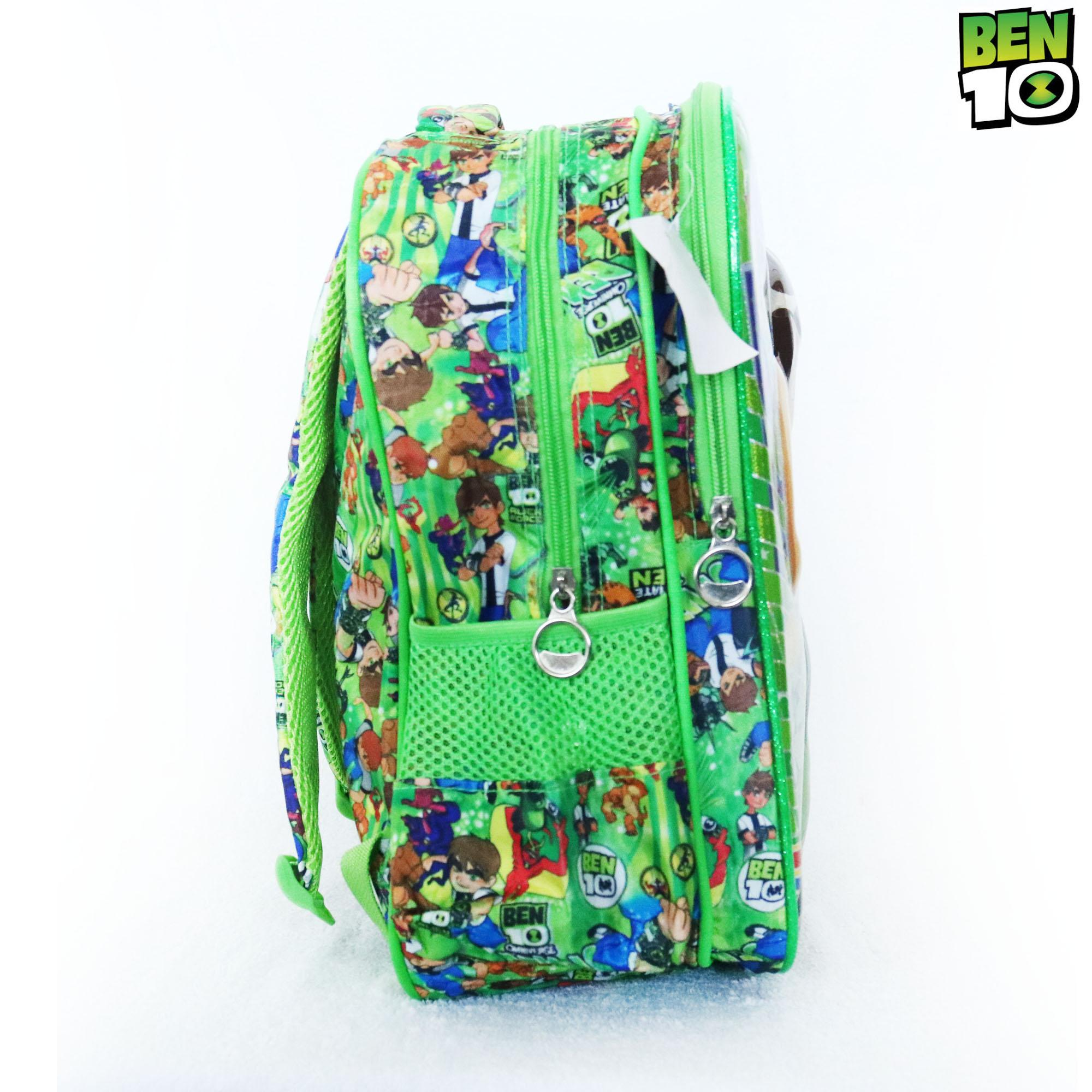 The cheapest price Ben 10 14 Children School Bag Backpack Green ...