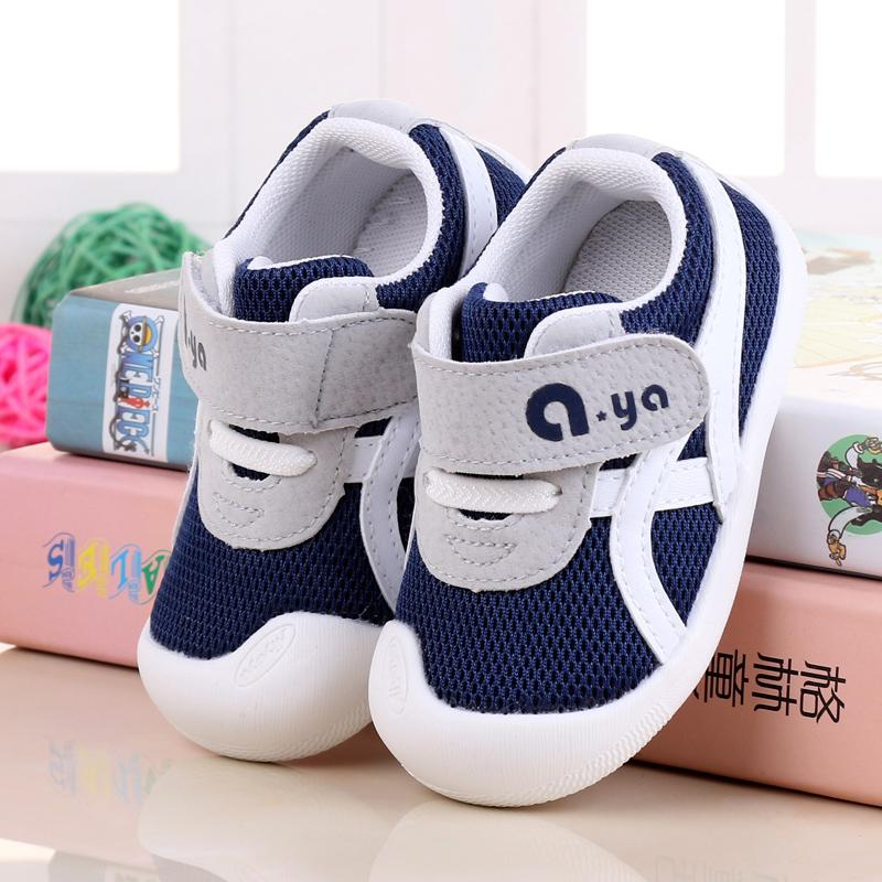 New Style Baby Athletic Shoes Spring And Autumn Men And Women 1-2 a 3 abca94b6e2