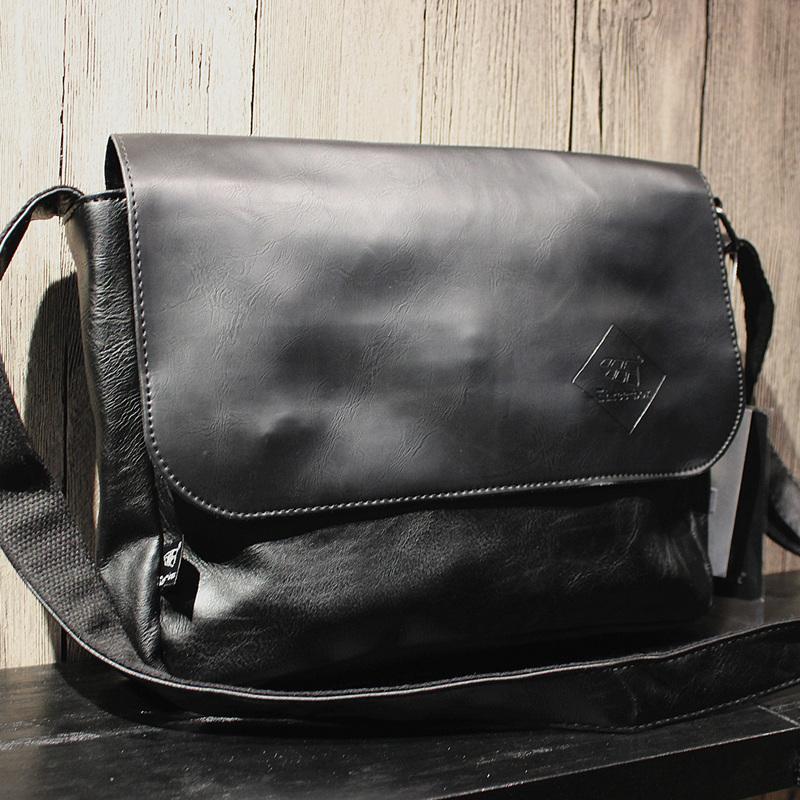 Threebox Retro Minimalist Shoulder Bag
