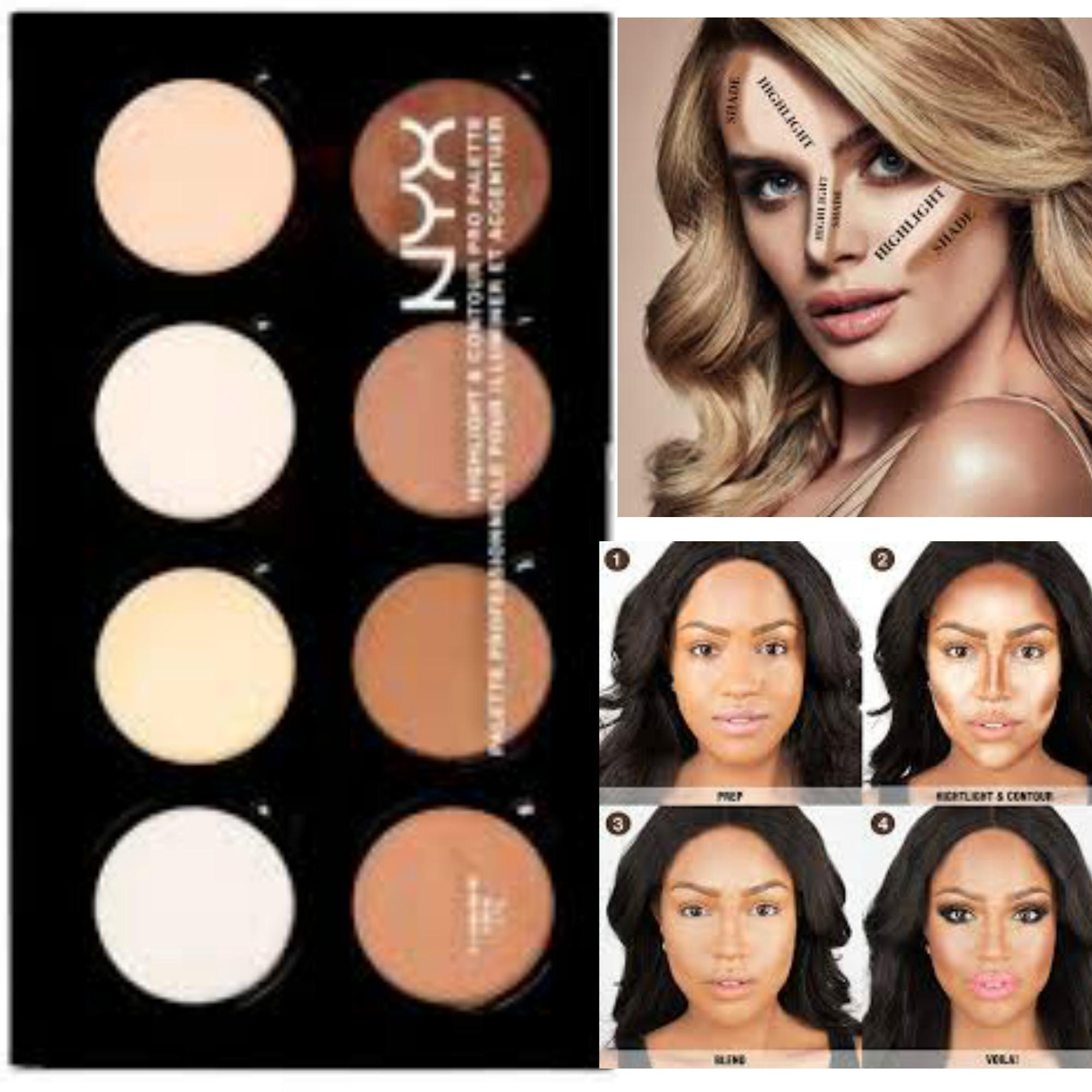 Nyx Highlight And Contour Palette(AUTHENTIC) Philippines