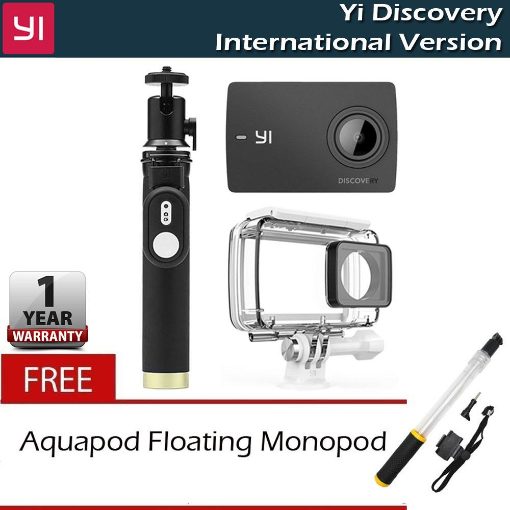 Yi Discovery 4k 20 Touchscreen Built In Wi Fi Action Camera Philippines Waterproof Xiaomi Package With Case And Monopod Remote Free Floater