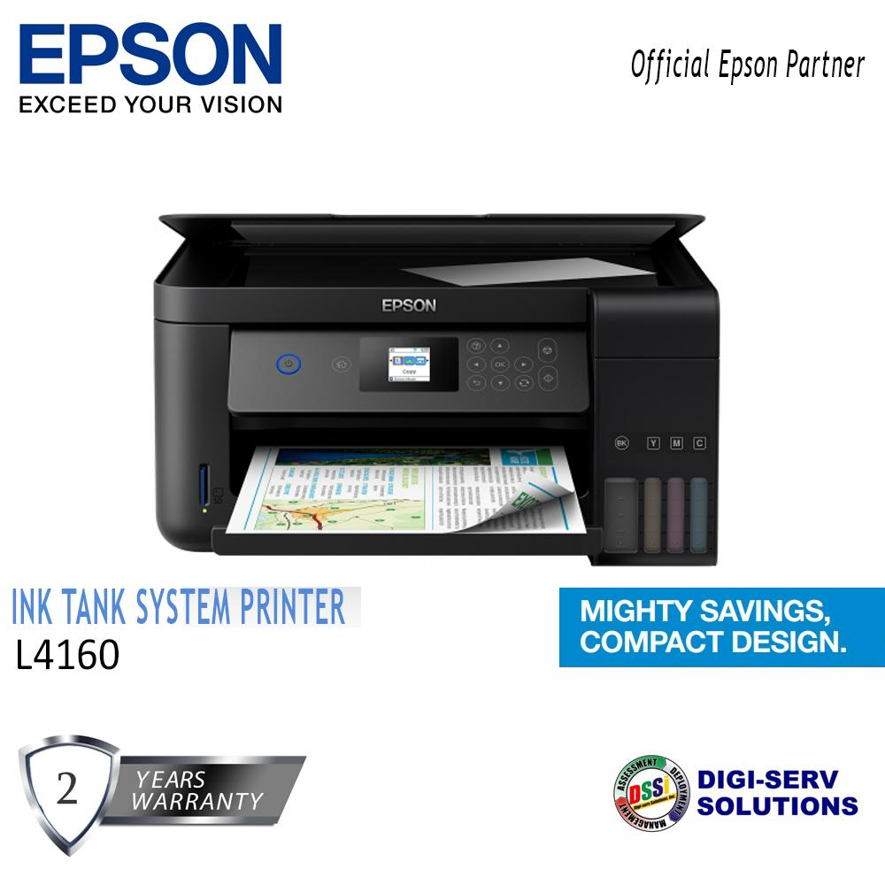 Printers For Sale Computer Prices Brands Specs In Ink Free Mobile Photo Printer Technology Epson L4160 Wi Fi Duplex All One Tank