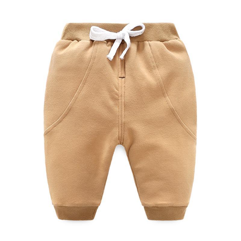 Beilai Musik Ditambah Beludru Lebih Tebal Yang Hangat Pakaian Luar Legging Katun Celana (Warna Beras