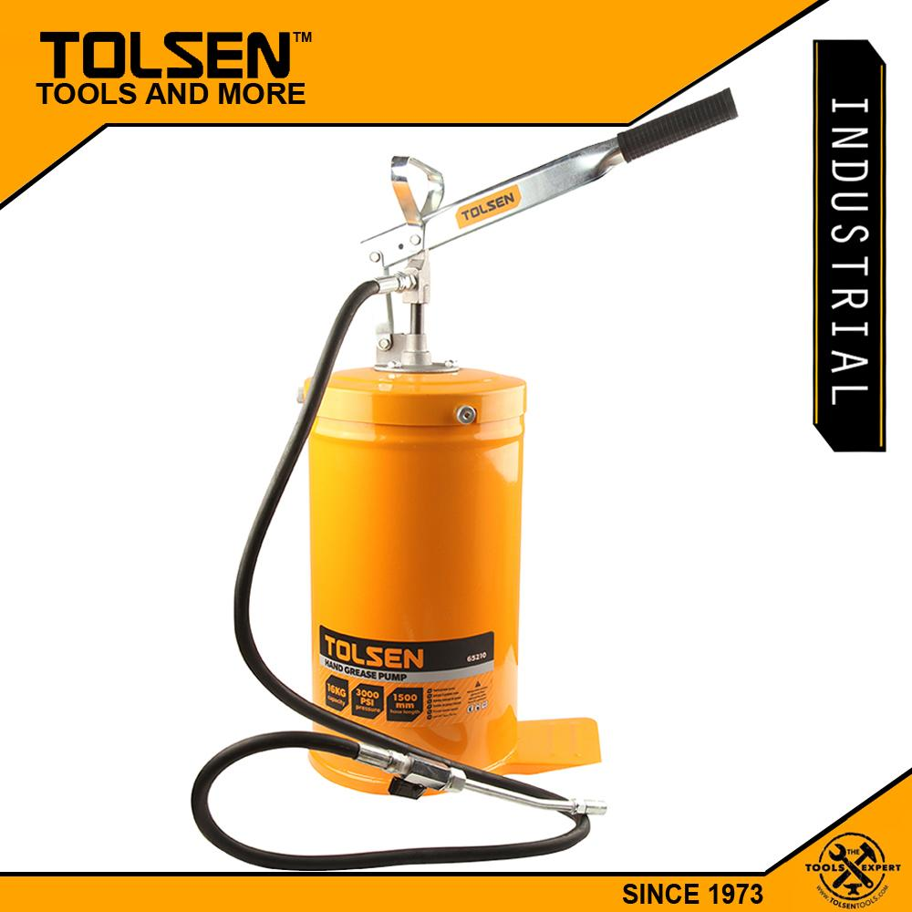 Tolsen Industrial Hand Grease Pump (16kgs - 3000PSI) 65210 Philippines