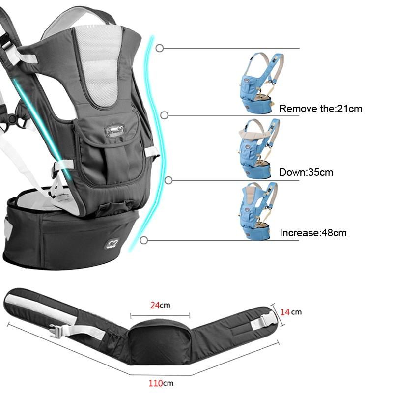 de8367e4500 0-36m InfantToddler Ergonomic Baby Carrier Sling Backpack Bag Gear ...