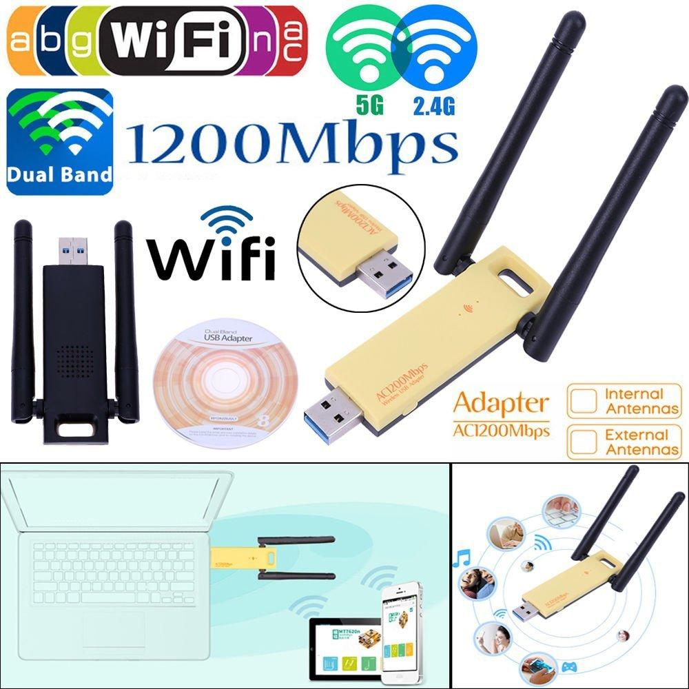 Alfa N 150Mbps 5dBi Wireless USB Adapter AWUS036NH Network Ralink 3070  (Green)