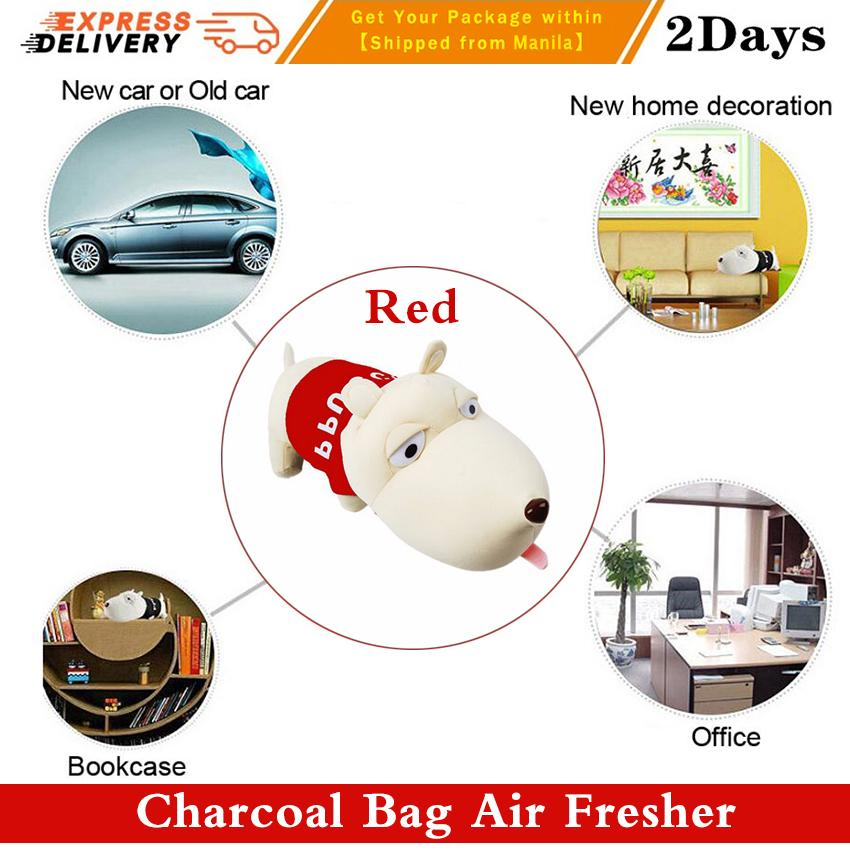 New Arrival Cute Long Mouth Dog Air Fresher Bamboo Charcoal Bag Car Deodorant NeW Renovated House