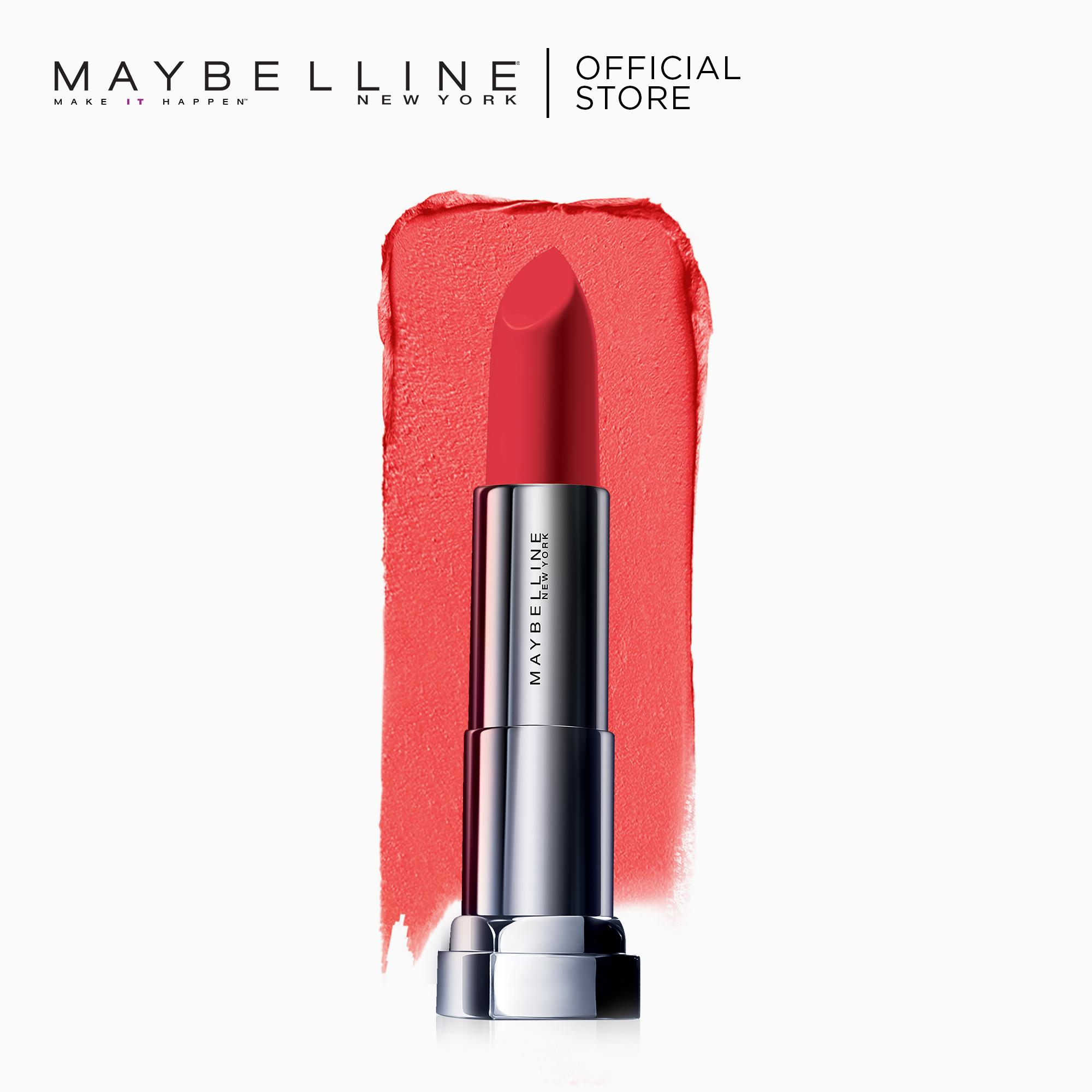 Maybelline Color Sensational Powder Matte Lipstick (Red-dy-Red) Philippines