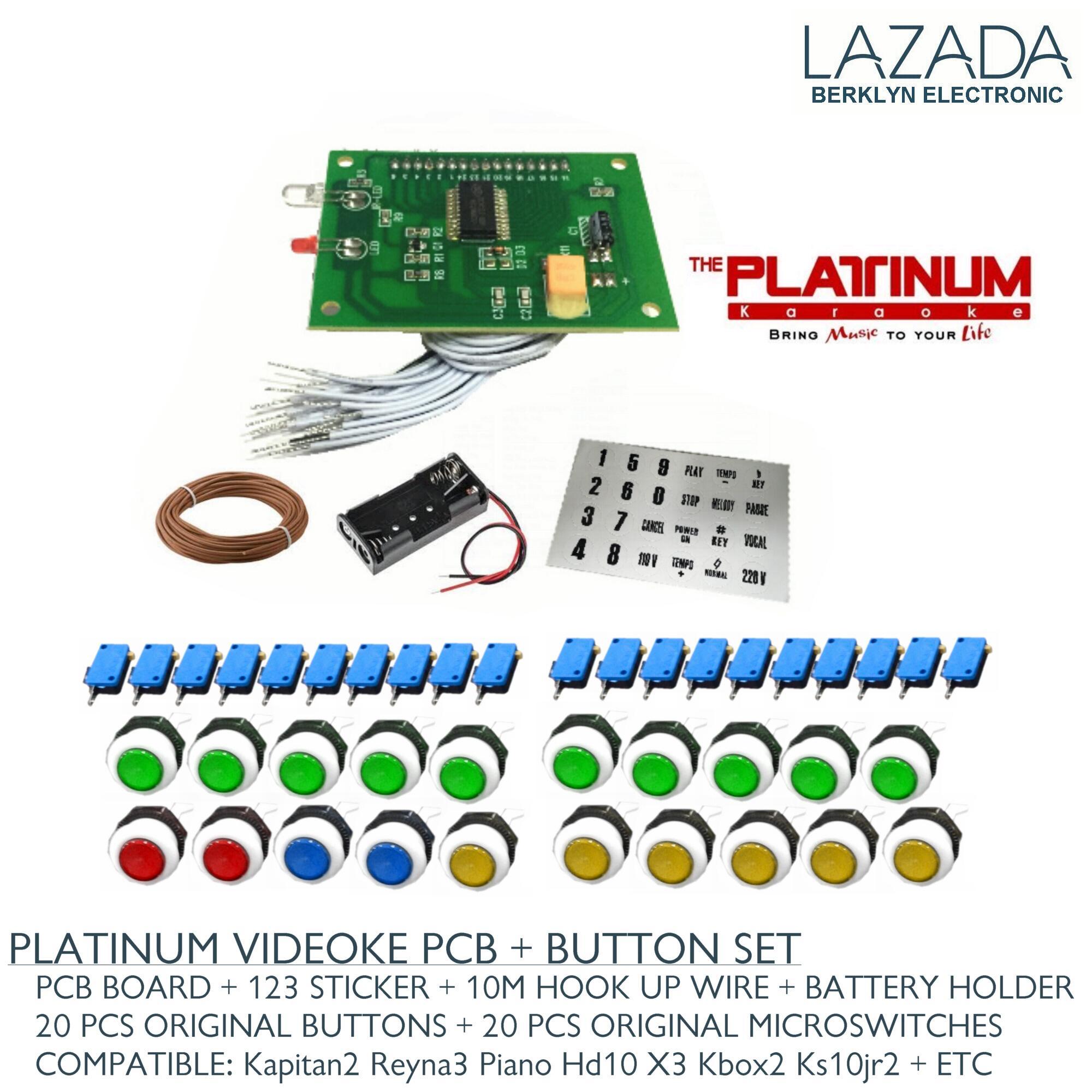 Platinum Philippines Price List Karaoke Player For Sale Videoke Speaker Wiring Pcb Remote Button Set Machine Battery Holder Wire Sticker